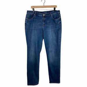 Lane Bryant Straight Leg Denim Jeans 18 Regular